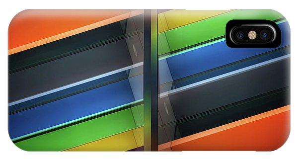 Rainbow iPhone Case - Diagonal by Henk Van Maastricht