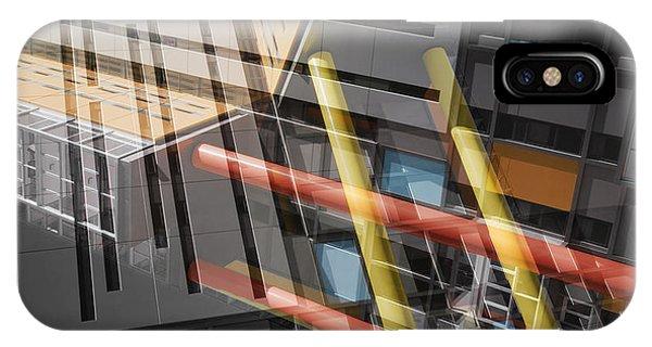 Diagonal Mondrian IPhone Case