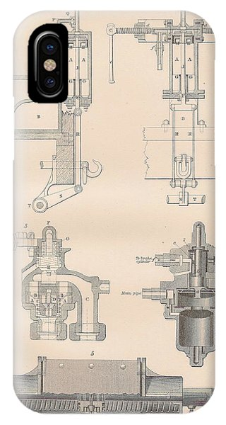 Diagram Of A Brake Phone Case by Anon
