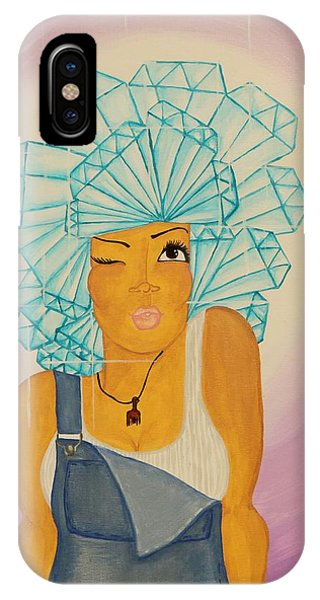 Diamond In The Rough IPhone Case