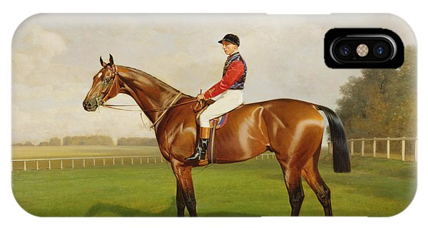 Diamond Jubilee Winner Of The 1900 Derby IPhone Case