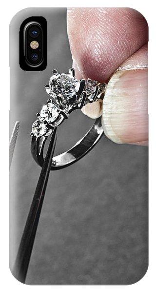 Diamond Ring Remount IPhone Case