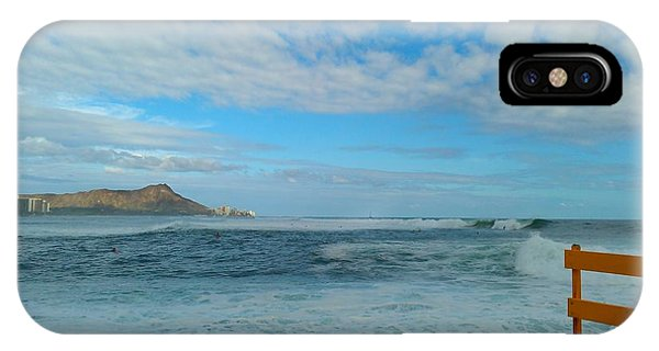 Diamondhead And A Yellow Fence IPhone Case