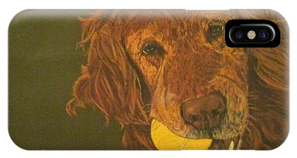 Did Somebody Say Ball? IPhone Case