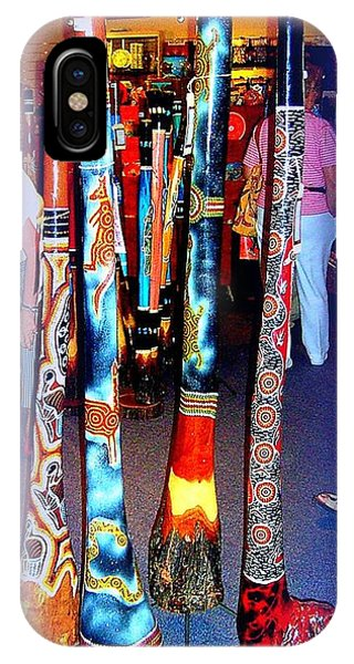 Didgeridoos For Sale Phone Case by John Potts