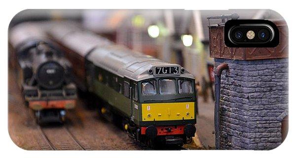 Diesel Electric Model Train Railway Engine IPhone Case