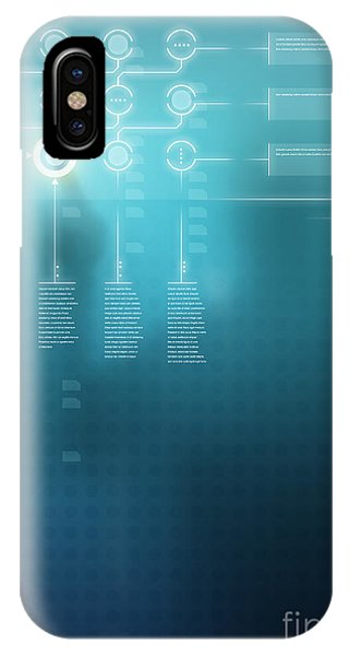 Navigation iPhone Case - Digital Display  by Carlos Caetano