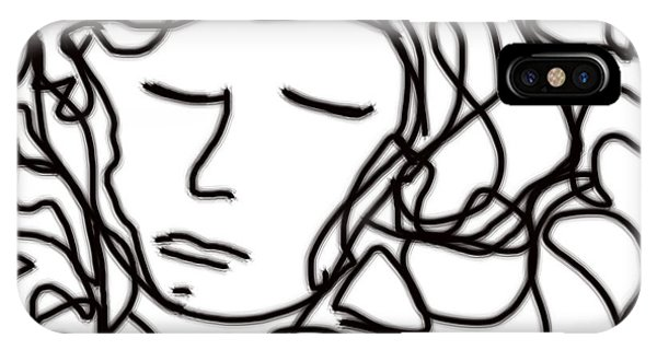 Digital Doodle IPhone Case