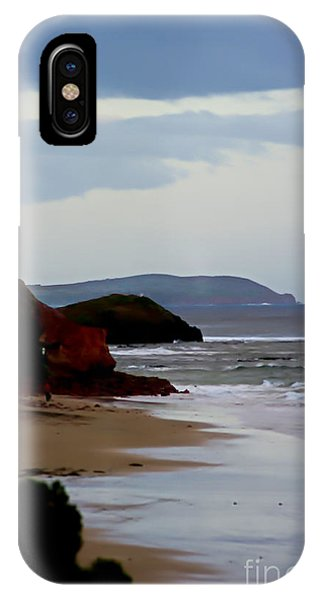 Digital Painting Of Smiths Beach IPhone Case