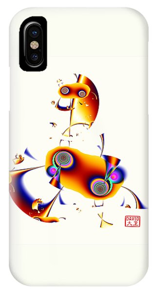 Digital Picasso - Hobby Horse IPhone Case