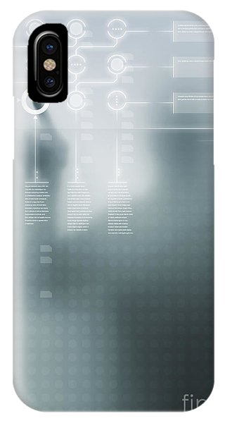 Menu iPhone Case - Digital User Interface by Carlos Caetano