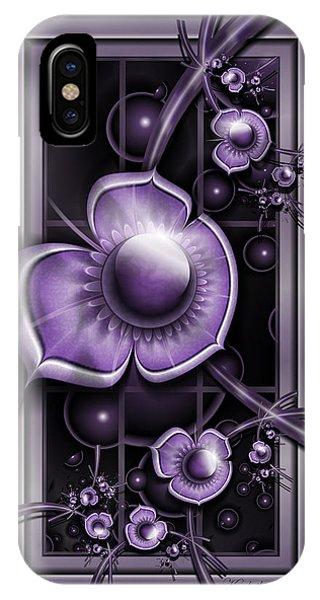 Dimensions Of Purple IPhone Case