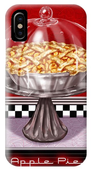 Diner Desserts - Apple Pie IPhone Case