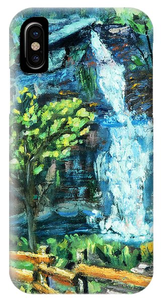Dingman Falls Eastern Pennsylvania IPhone Case