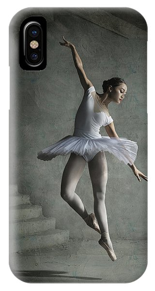 Ballerina iPhone Case - Dinka 1 by Sebastian Kisworo