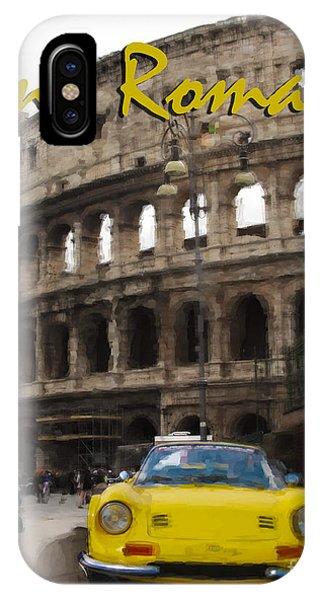 Dino Roma IPhone Case