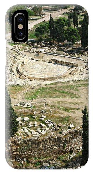 Dionysus Amphitheater IPhone Case