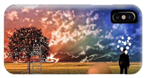 Diorama IPhone Case