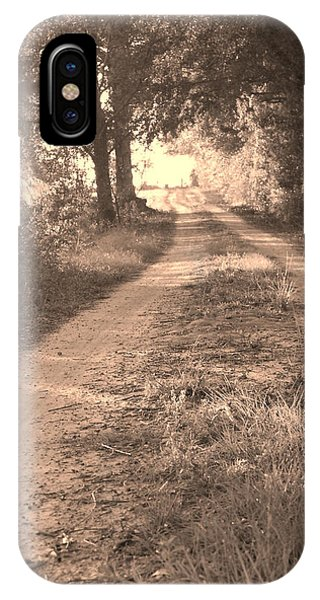 Dirt Road In Moultrie Georgia IPhone Case