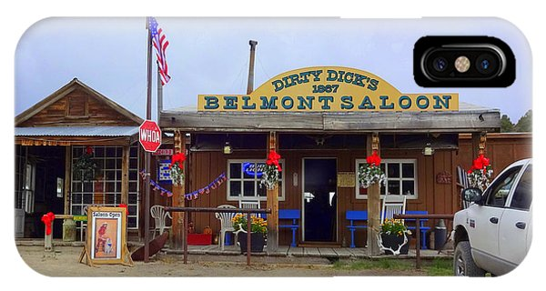 Dirty Dicks Saloon IPhone Case