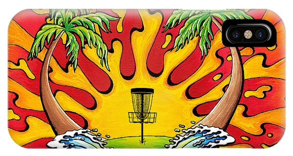 Disc Golfers Paradise IPhone Case