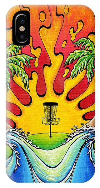 Disc Golfers Paradise IPhone Case