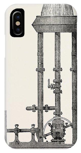 Disc Pump. 1851 IPhone Case