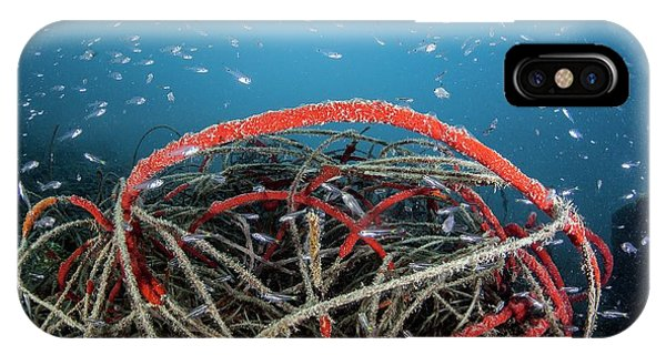 Micronesia iPhone Case - Discarded Fishing Line by Ethan Daniels
