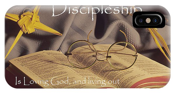 Discipleship IPhone Case