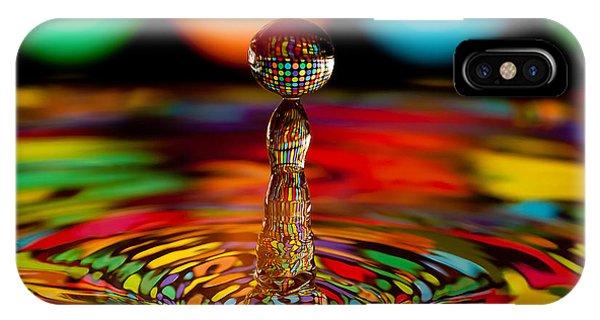 Disco Ball Drop IPhone Case