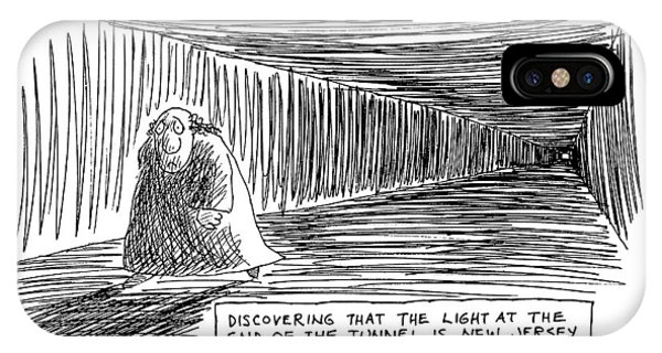 Discovering That The Light At The End IPhone Case