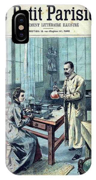 Nobel iPhone Case - Discovery Of Radium By The Curies by National Library Of Medicine