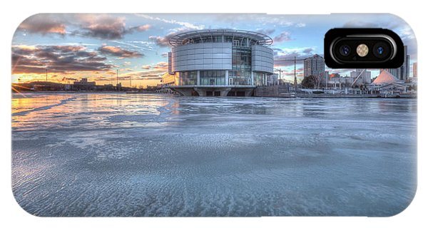Discovery World On Ice IPhone Case
