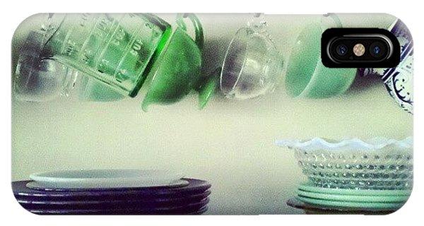 Still Life iPhone Case - Dishes A Still Life by Jill Tuinier