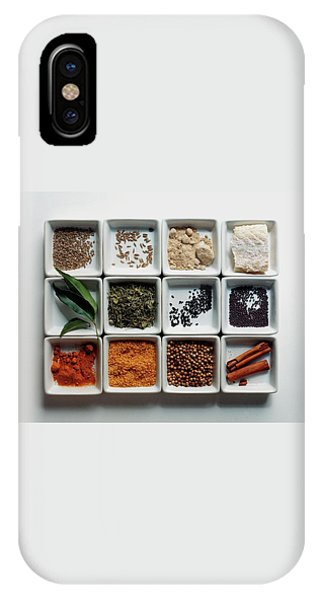 Dishes Of Spices IPhone Case