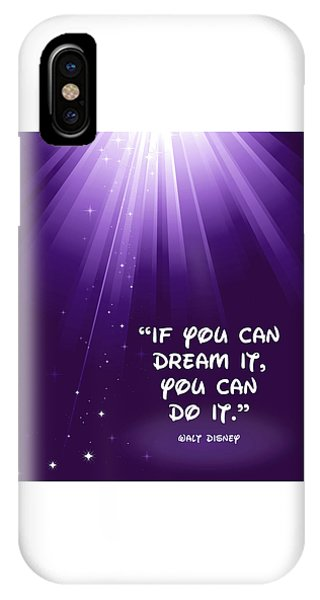 Disney's Dream It IPhone Case