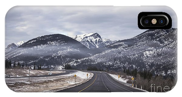 Banff iPhone Case - Distance Is Near by Evelina Kremsdorf