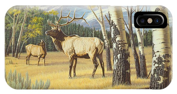 Yellowstone iPhone Case - Distant Bugle by Paul Krapf