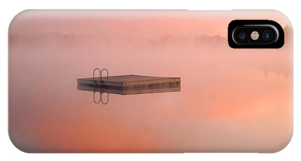 Distant Dock At Sunrise IPhone Case