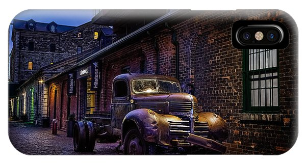 Distillery District Toronto IPhone Case