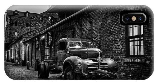 Distillery District Toronto Mono IPhone Case