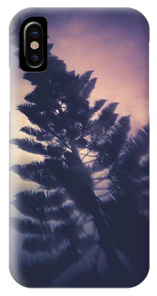 Distorted Pine  IPhone Case