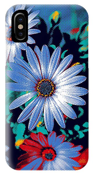 Dithered Daisies IPhone Case