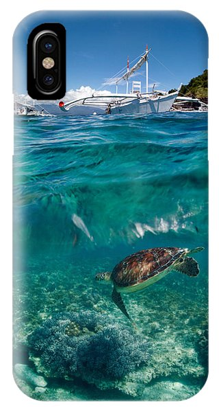 Boat iPhone Case - Dive To Philippines by Andrey Narchuk