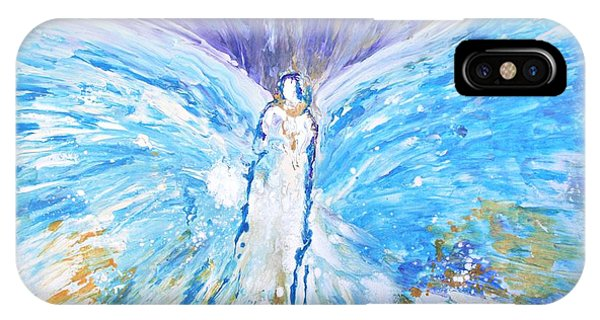 Healing Angel Apparition Of Angels IPhone Case