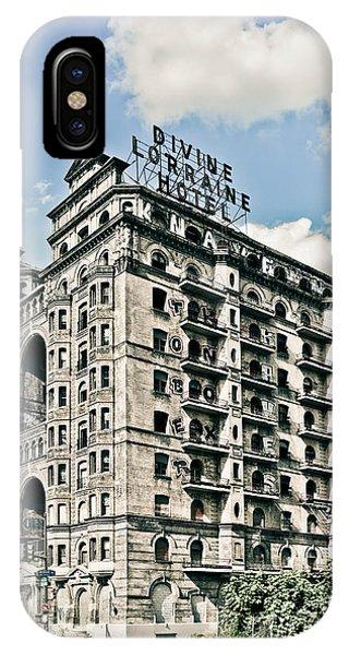 Divine Lorraine Hotel IPhone Case