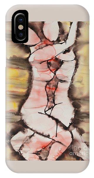 Lgbt iPhone Case - Divine Love Series No. 1412 by Ilisa Millermoon