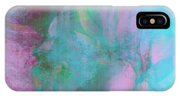 IPhone Case featuring the mixed media Divine Substance - Abstract Art by Jaison Cianelli