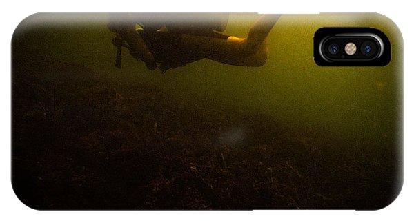 Diving Dark IPhone Case