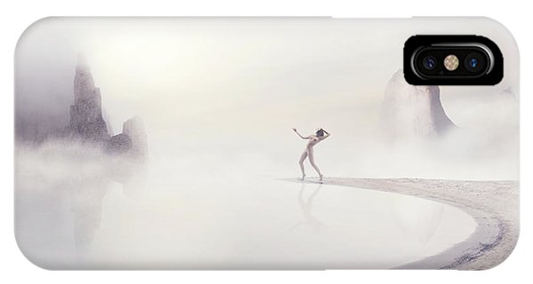 Fog Mist iPhone Case - Divinity by Patrick Odorizzi